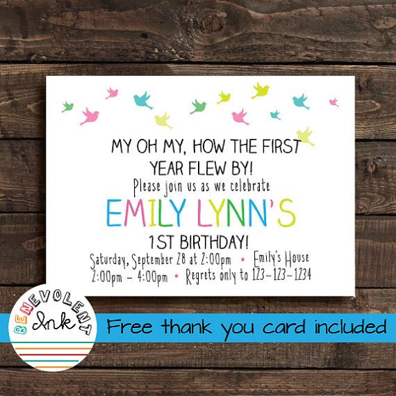 Hey, I found this really awesome Etsy listing at https://www.etsy.com/listing/160161866/first-birthday-girl-invitation-printable