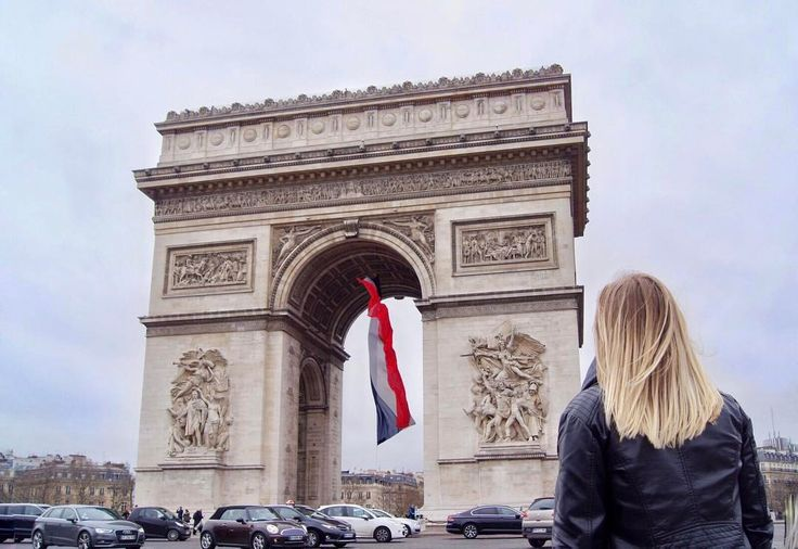 Always looking for new adventures  ••••••••••••• One of Paris's most known landmarks   #Paris #arcdetriomphe