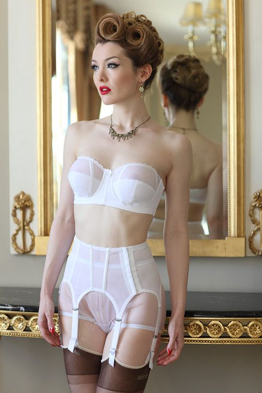9400a286f9f Sophisticated Garter Belt STYLE 3390 SL Price  59.00 White