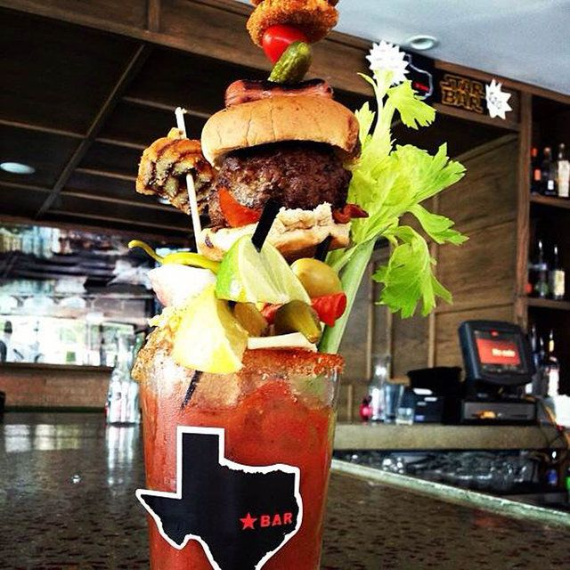 Austin's 8 most ridiculous bloody marys... I can't believe I never tried a single one of these while I lived there!