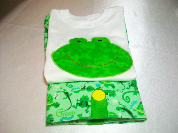 12 Month Boy Shorts and Shirt Set. Baby Boy by PeaPodLilFrogs