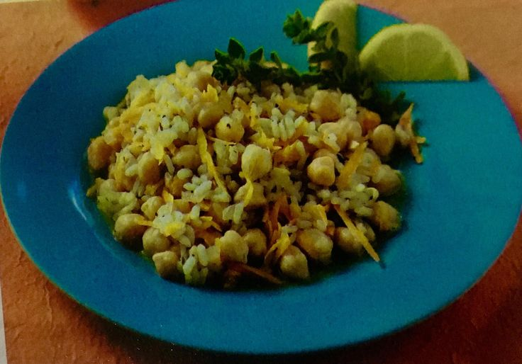 Ρεβιθόρυζο με τριμμένο καρότο (3 μονάδες)