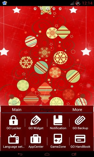 best christmas themes android