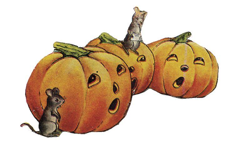 halloween clip art free vintage - photo #8