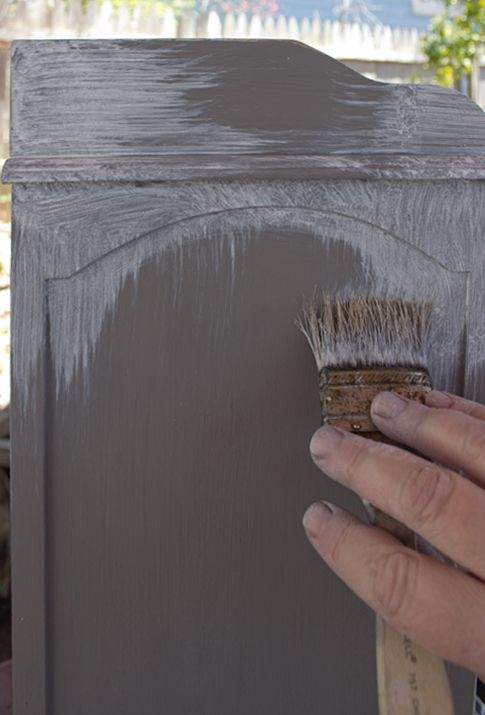 French Grey Aged Patina Finish! – For the apartment