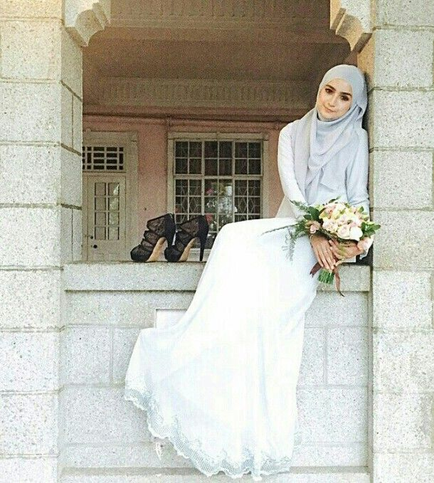 Hijab - beautiful bride