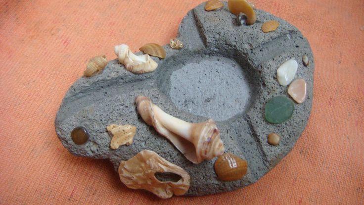 Пемза и сокровища крымского прибоя(пепельница)