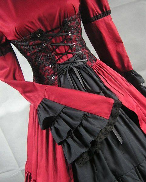 Classic Lolita Dress Long Sleeves Stand Collar Bow Satin-3.jpg (482×598)