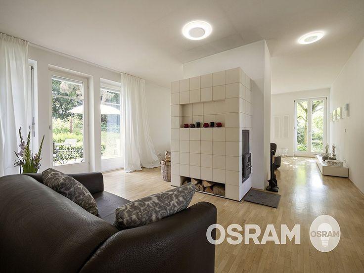 OSRAM LED Deckenleuchte Ring 18W / extrem flache Wandlampe / Höhe 29mm / Ø 28cm / 1200 Lumen / 2700K - warmweiß: Amazon.de: Beleuchtung