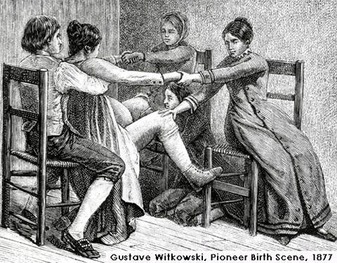 tug-o-war during labor
