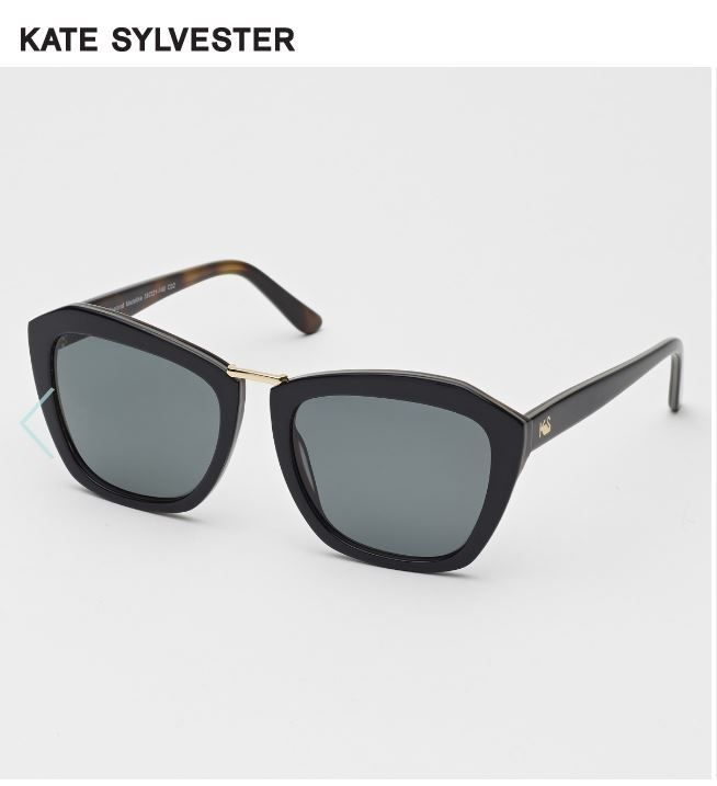 Sept 2017 Kate Sylvester Madeline Sunglasses. She just oozes style. These are effortlessly gorgeous. And apparently named after the children books Madeline!