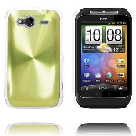 Aluminiums Shield (Grøn) HTC Wildfire S Cover