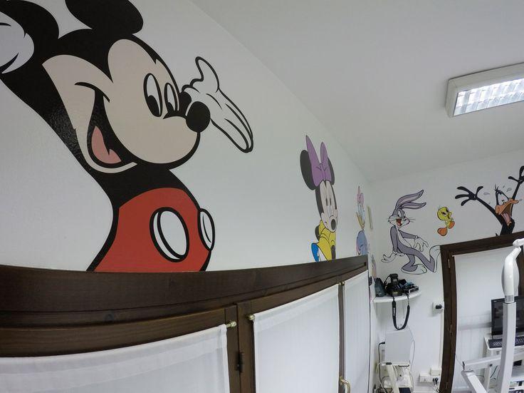 ambulatorio bambini decorazioni a parete adesivi