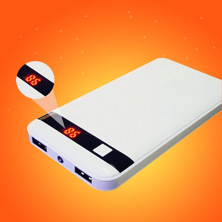 Nuevo Banco de la Energía 10000 mAh Batería Externa de Reserva Portable Móvil Del Cargador Del Banco para Todos Los poderes de Copia de seguridad Del Teléfono sólo enviar rusia
