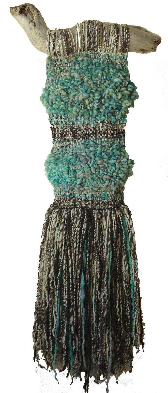 Marianne Werkmeister gorgeous contemporary weaving!