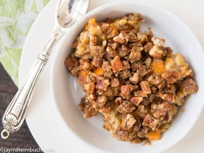 YUMMY! Need to try this -->Sweet potato and oatmeal breakfast bake ...