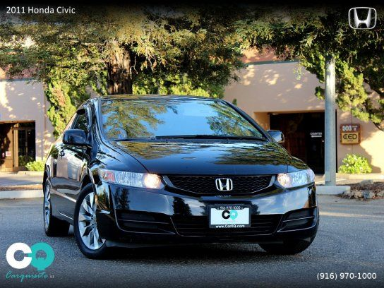 Coupe, 2011 Honda Civic Coupe with 2 Door in Roseville, CA (95678)