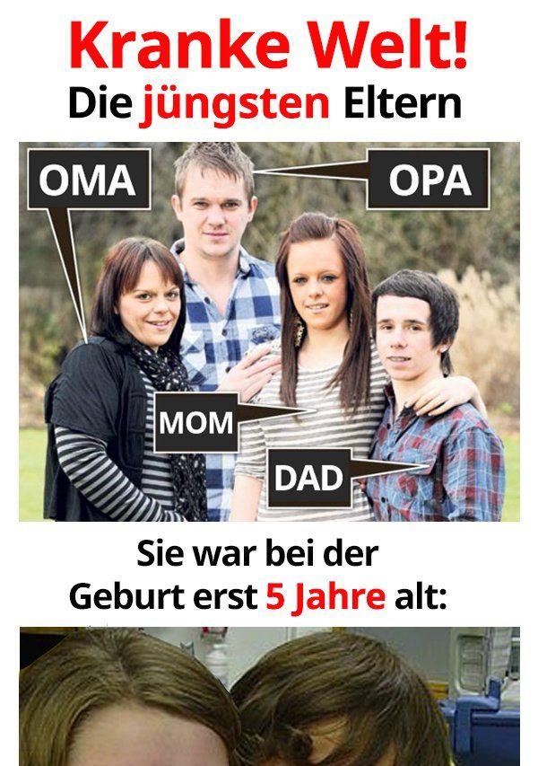 Das sind die jüngsten Eltern der Welt | Lustige