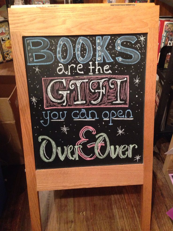 The gift of books....perfect for a Christmas display!