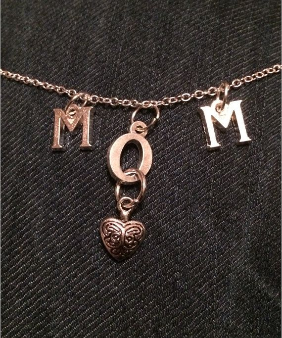 Beautiful MOM necklace Mothers Day Gifts by leonorafi on Etsy