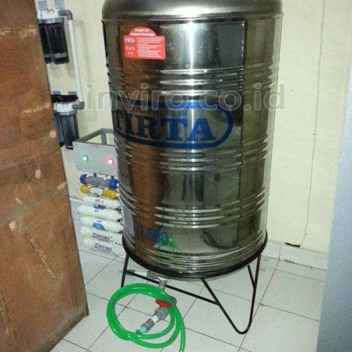 Mesin RO 200 GPD Untuk Kemasan Gelas Cup di Dharma Wanita Persatuan Kemenag DIY  Nama User Pemesan : Dharma Wanita Persatuan (DWP) Kemenag Daerah Istimewa Yogyakarta (DIY) Kontak yang bisa dihubungi : Bu Nizar Lokasi / Alamat Pemasangan : DWP Kemenag DIY Jl. Sukonandi No. 8 Yogyakarta Mesin RO 200 GPD (setara Produksi 40 Galon /Hari) tersebut digunakan untuk membuat air kemasan dalam Gelas / Cup, yang digunakan untuk dikonsumsi kalangan sendiri, tidak untuk dijual secara komersial, yaitu…