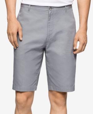 Calvin Klein Men's Corduroy Shorts - Gray 40