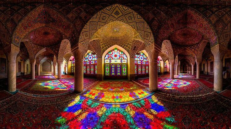 nasir-al-mulk mosque shiraz iran ! http://www.ilinktours.com/blog/what-is-a-mosque-or-masjid-in-islam/