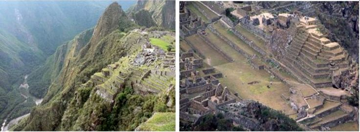 Macchu Picchu, Peru, Andes Mountains, a major energy portal.