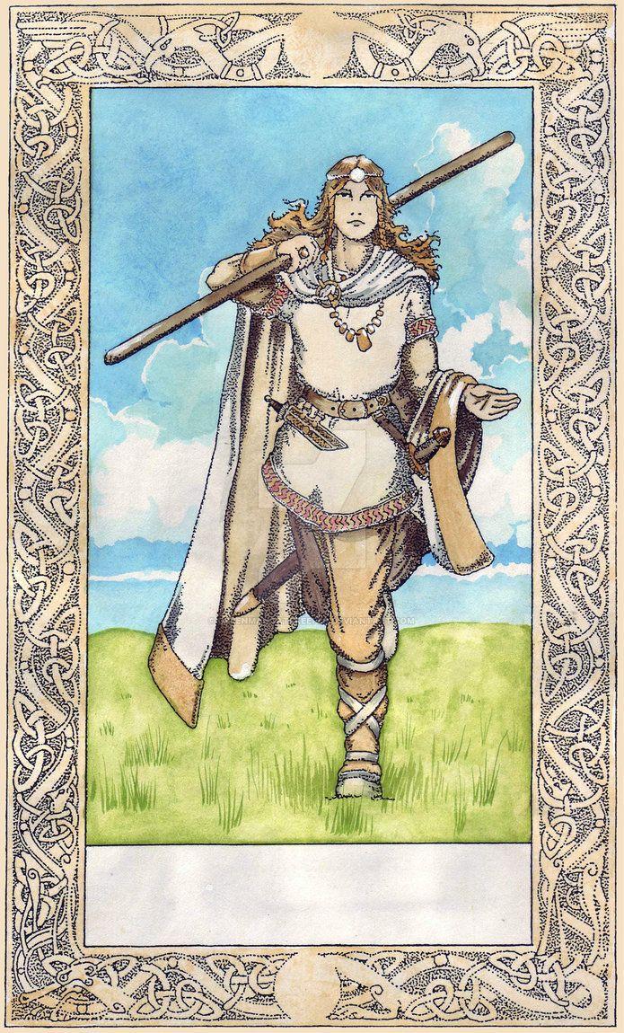 Norse Tarot - Fool by GreenManGatekeeper on DeviantArt