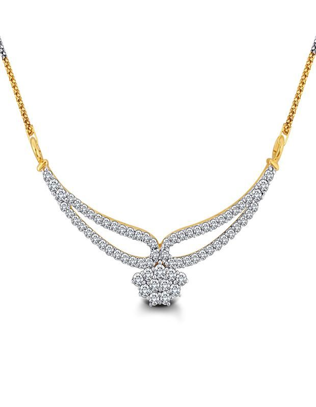 Charming And Mesmerizing Diamond Mangalsutra pendant Wear This Charming And Mesmerizing Diamond Mangalsutra To Remember The Best Day In Your Life. - See more at: http://diamonds4you.com/item/21305068.aspx#sthash.2MGf6zSH.dpuf