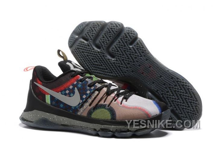 """http://www.yesnike.com/big-discount-66-off-nike-kd-8-se-what-the-multi-color-multi-color-309625.html BIG DISCOUNT ! 66% OFF! NIKE KD 8 SE """"WHAT THE"""" MULTI COLOR/MULTI COLOR 309625 Only $108.00 , Free Shipping!"""