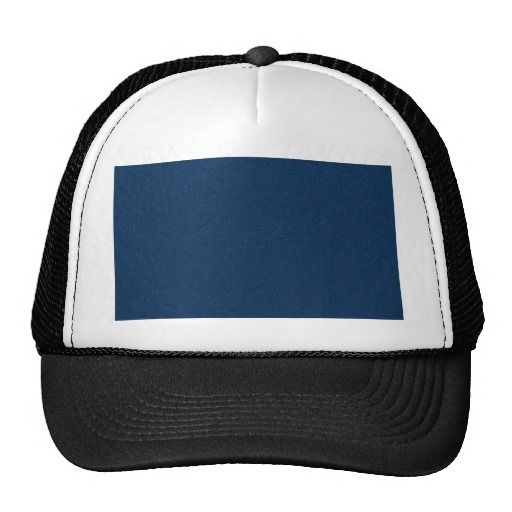 PANTONE Classic Blue with fine faux Glitter Trucker Hat