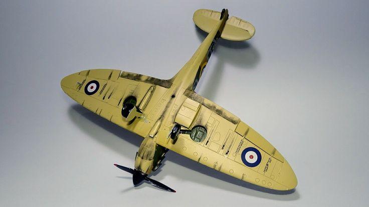 Supermarine Spitfire Mk I, Airfix  1:48