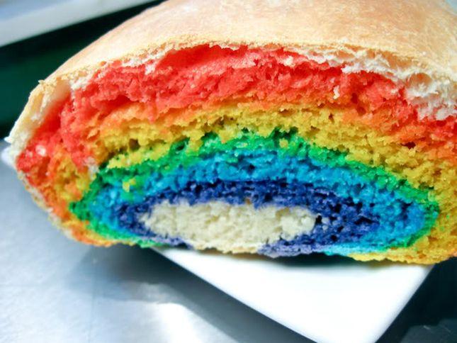 Rainbow Bread   25 Bright Rainbow Recipes