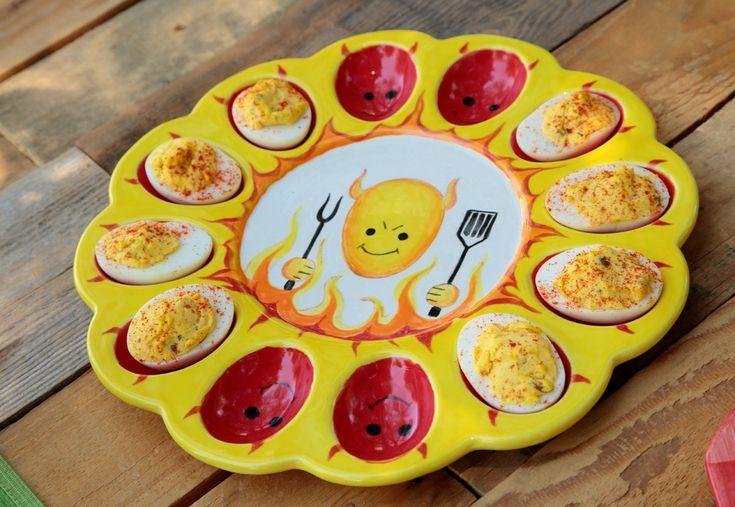 Show details for Devilishly Cute Egg Platter