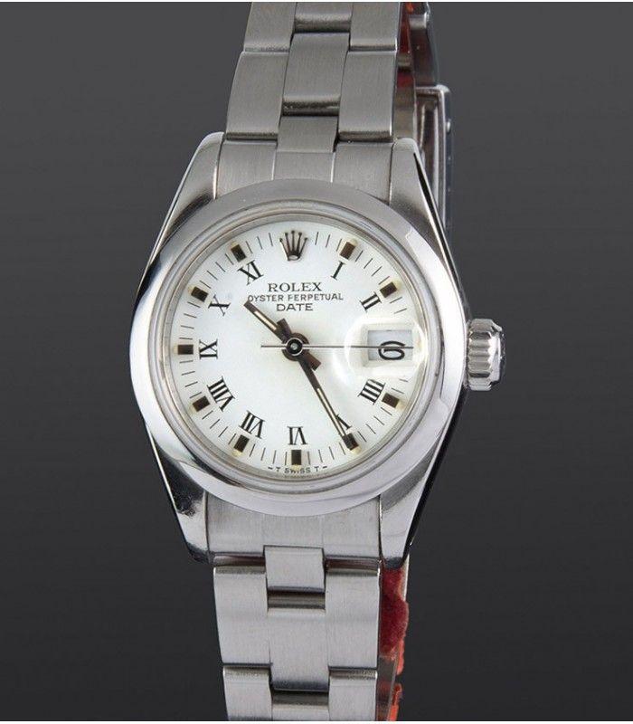 Compre este reloj Rolex de acero de mujer. Un año de garantía. Gastos de envío gratis (España, Andorra, Portugal y Gibraltar).