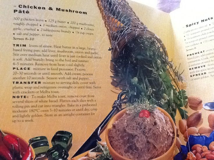 Chicken and Mushroom Pate