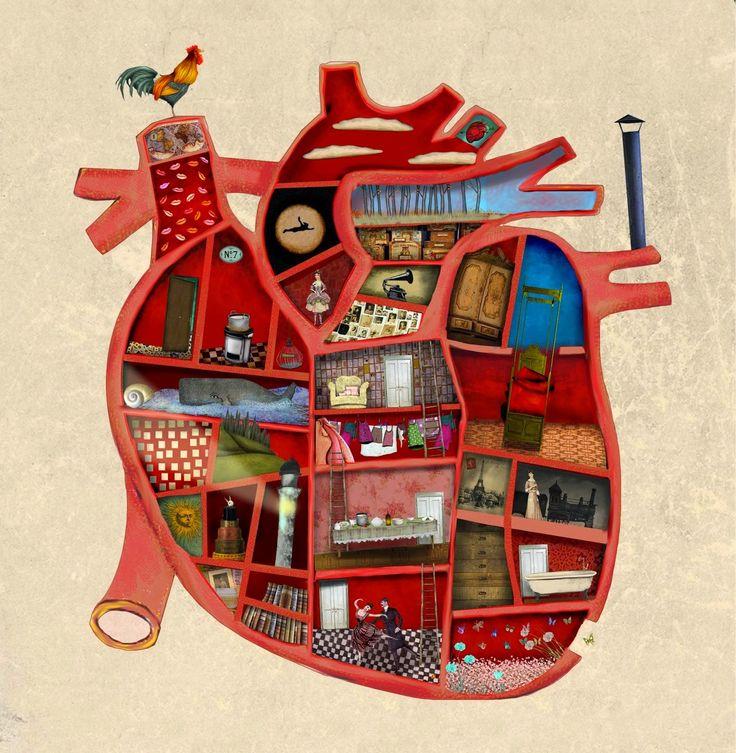 Corazón. Ilustración de Raquel Díaz Reguera