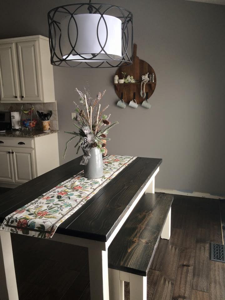 78+ ide tentang Bench Kitchen Tables di Pinterest