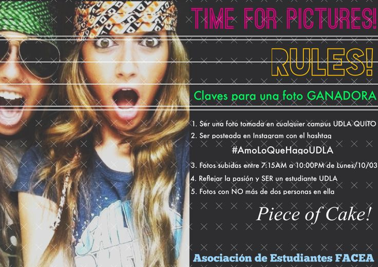 Bases del Concurso Time for Pictures