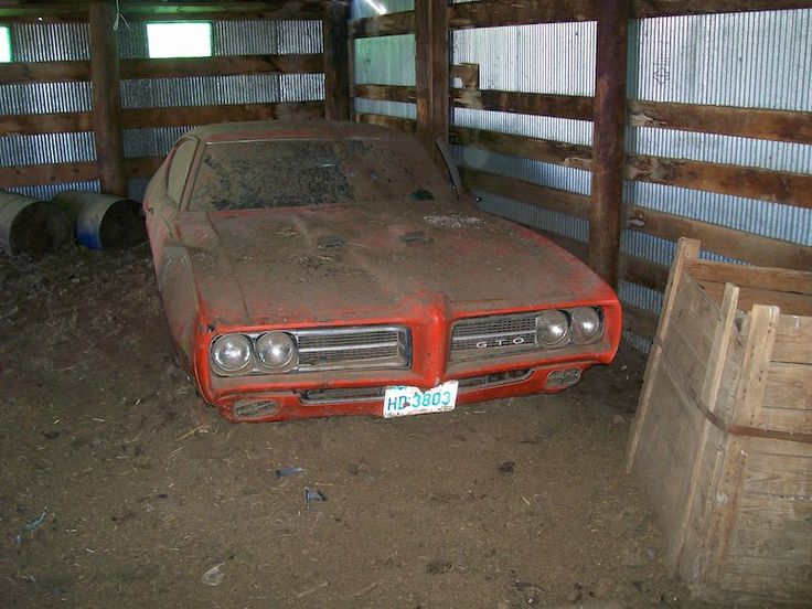 Whats Behind The Barn Door Sakes Alive Its A GTO Judge One Of Produced That Model Year And Hottest Collector Cars In Muscle Car Hobby