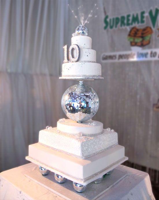 10th anniversary cakes