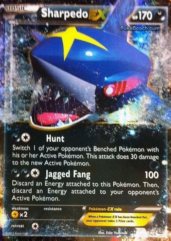 Sharpedo EX 91/160 ULTRA RARE - Pokemon XY Primal Clash PREORDER SHIPS 2/6 #Pokemon