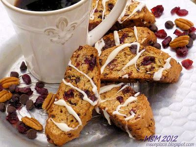 Ms. enPlace: Get Your Chef On: Trail Mix Biscotti