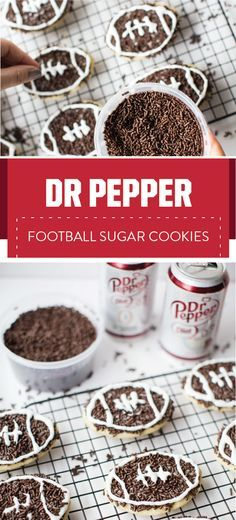 If these Dr Pepper®️️ Football Sugar Cookies aren't fit for your game day celebration then we don't know what is! Check out this dessert recipe and the Dr Pepper Dollar General rewards program to see how everyone's favorite soda plays a part in these sweet treats in a budget-friendly way. And be sure to pick up the ingredients and tailgating essentials you need before kick-off without breaking the bank at Dollar General.