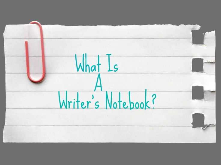 The best way to motivate your writing muse is to learn how to create a writer's notebook! #nanowrimo
