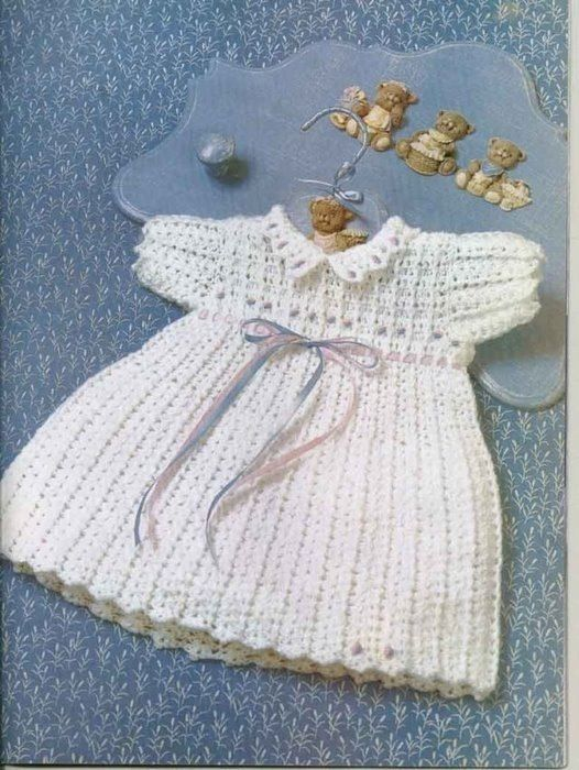 22 best baby dress images on Pinterest | Baby dresses, Knitwear and ...