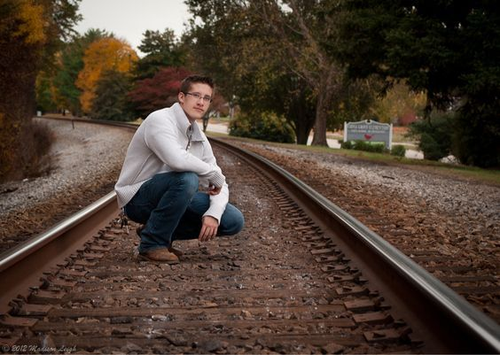 Image result for railroad senior pictures