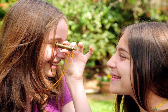 Mini Teleidoscope Traditional toys by royskaleidoscopes on Etsy