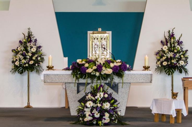 Wedding Flowers For Church Altars Best Decorations Images On